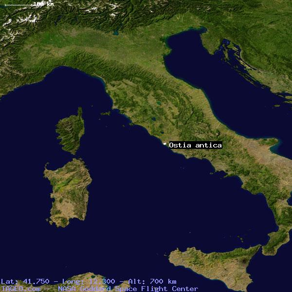 Ostia Antica Italy General Italy Geography Population Map Cities