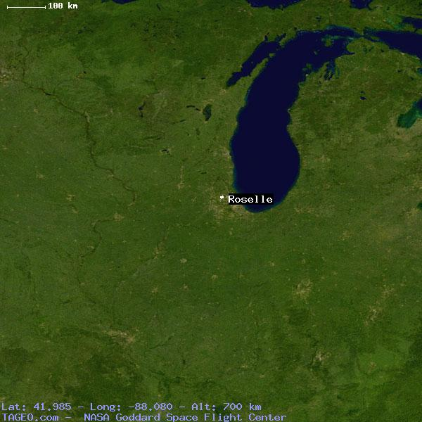 Roselle Illinois Map.Roselle Illinois United States Geography Population Map Cities