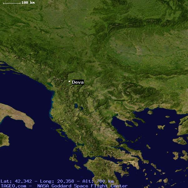 DEVA SERBIA (GENERAL) SERBIA Geography Potion Map cities ... on