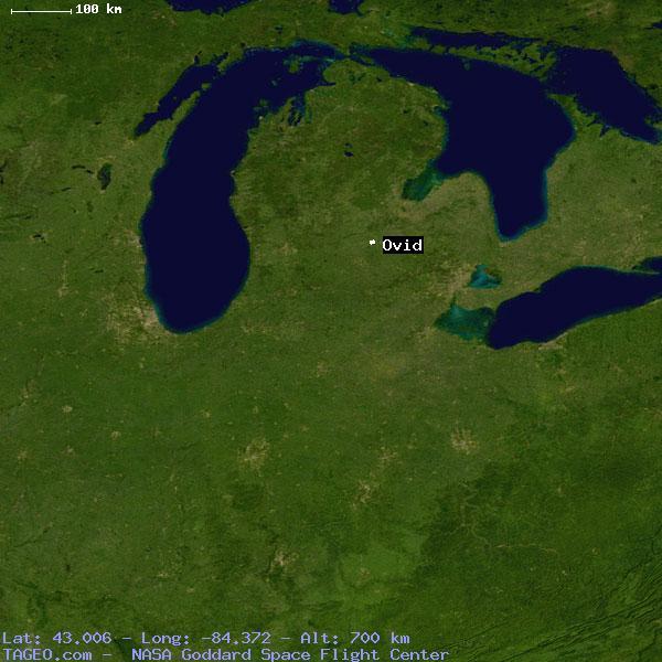 Ovid Michigan Map.Ovid Michigan United States Geography Population Map Cities