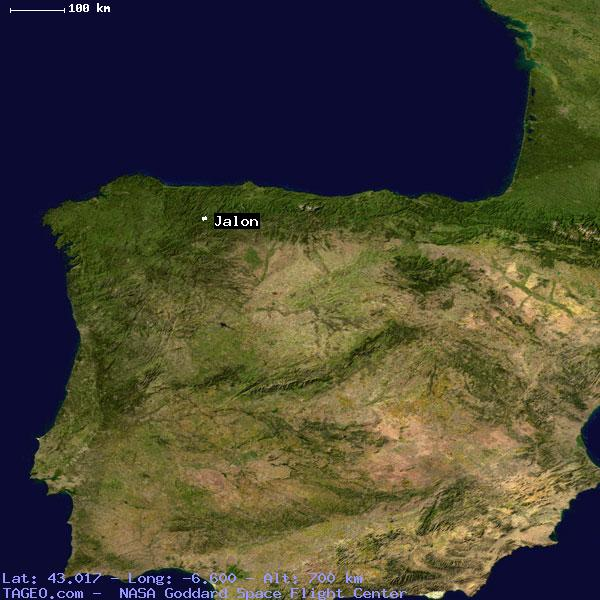 Map Of Spain Jalon.Jalon Asturias Spain Geography Population Map Cities Coordinates