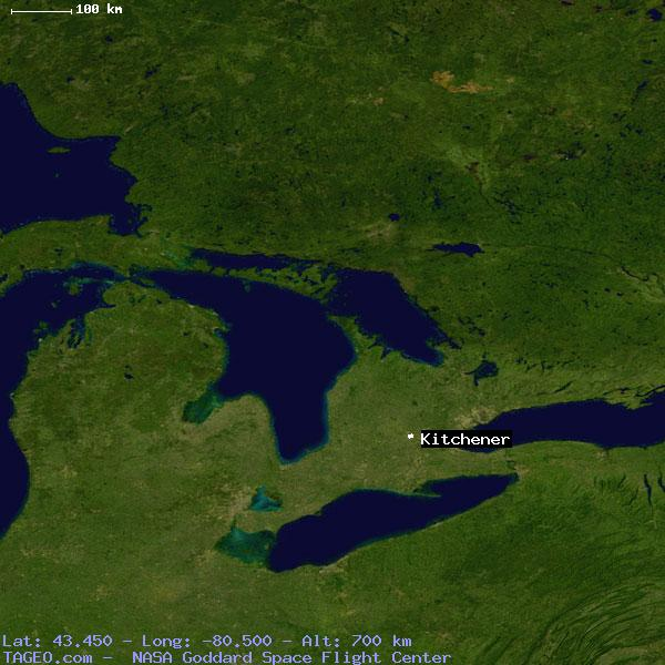 Google Maps Kitchener Ontario To Mount Forest Ontario