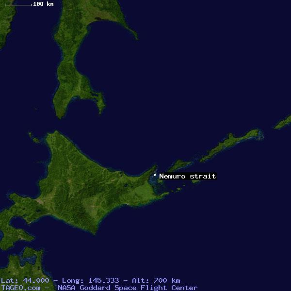 Nemuro Strait
