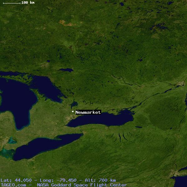 NEWMARKET ONTARIO CANADA Geography Population Map cities