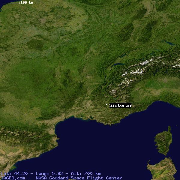 Sisteron France Map.Sisteron Alpes De Haute Provence France Geography Population Map
