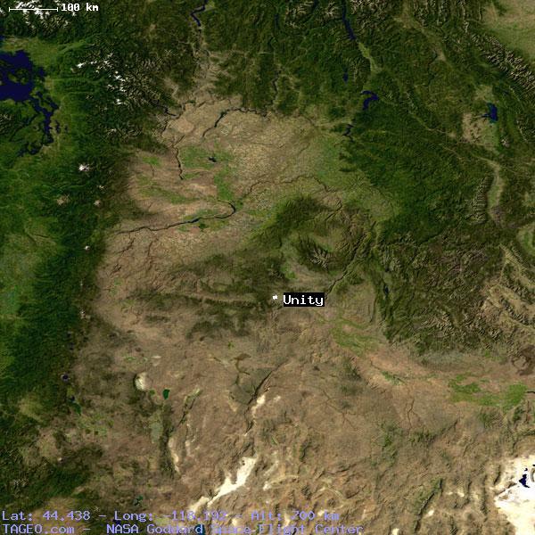 Unity Oregon Map.Unity Oregon United States Geography Population Map Cities