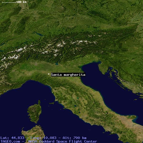 Santa Margherita Italy General Italy Geography Population Map