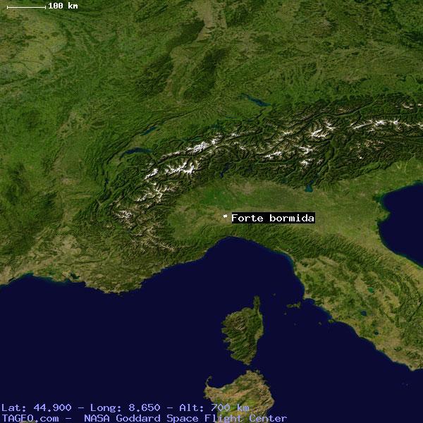FORTE BORMIDA ITALY (GENERAL) ITALY Geography Population Map