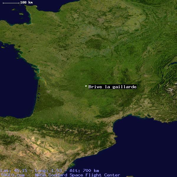 Brive France Map.Brive La Gaillarde Correze France Geography Population Map Cities