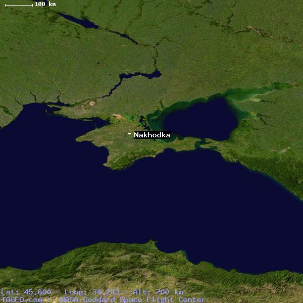 NAKHODKA UKRAINE GENERAL UKRAINE Geography Population Map Cities - Nakhodka map