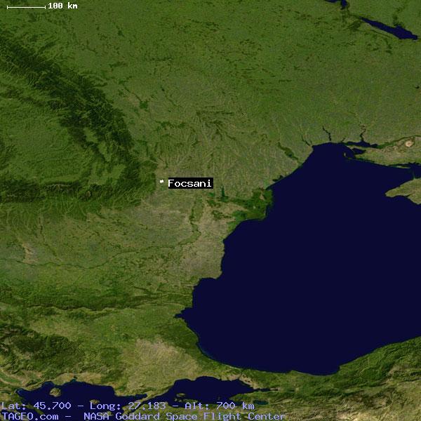 FOCSANI VRANCEA RUMANIA Geography Population Map Cities - Focşani map