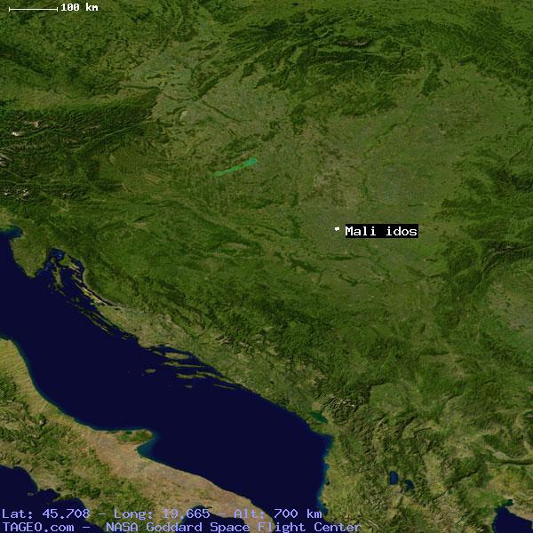mali idos serbia general serbia geography population map. Black Bedroom Furniture Sets. Home Design Ideas