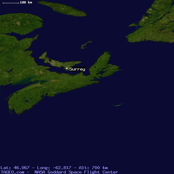 Surrey Canada Map.Surrey Prince Edward Island Canada Geography Population Map Cities