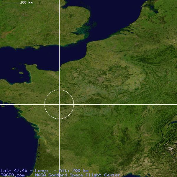Satellite view of Mosnes
