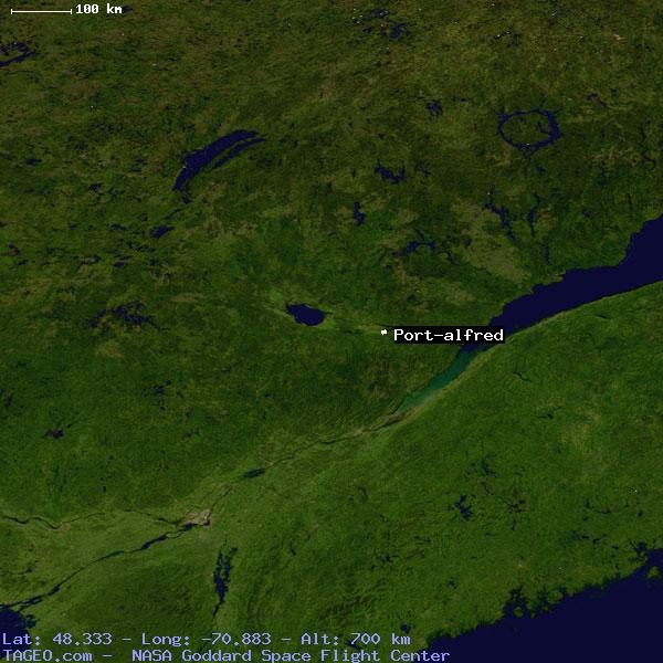 PORT-ALFRED QUEBEC CANADA Geography Potion Map cities ... on map of new brunswick canada, map of islands canada, map of canada provinces, main cities of canada, ontario canada, map of rural community, printable map of canada, large map of canada, names of cities in canada, map of vancouver, alberta canada,