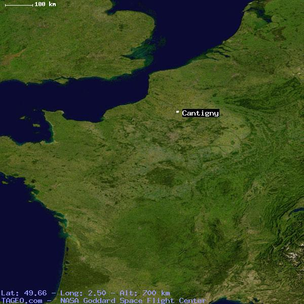 CANTIGNY SOMME FRANCE Geography Population Map cities coordinates