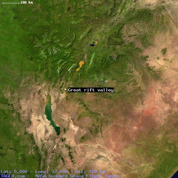 GREAT RIFT VALLEY EGYPT GENERAL EGYPT Geography Population Map - Africa map great rift valley