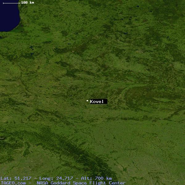 KOVEL VOLYNSKA OBLAST UKRAINE Geography Population Map cities