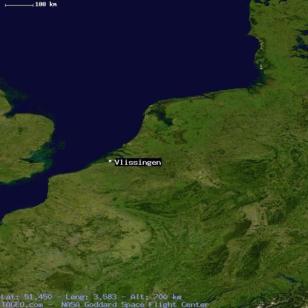 VLISSINGEN ZEELAND NETHERLANDS Geography Population Map cities