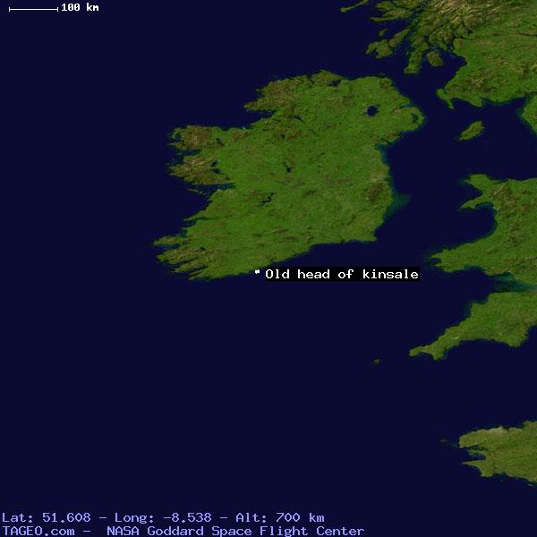 Old Head Of Kinsale Cork Ireland Geography Population Map Cities