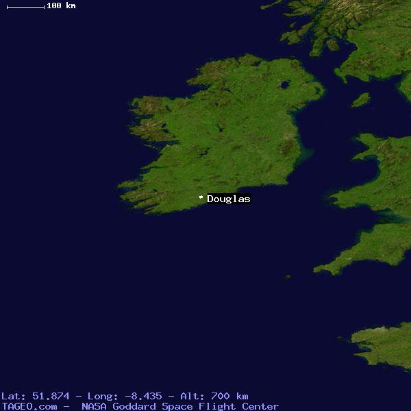 Douglas cork ireland geography population map cities coordinates satellite view of douglas gumiabroncs Image collections