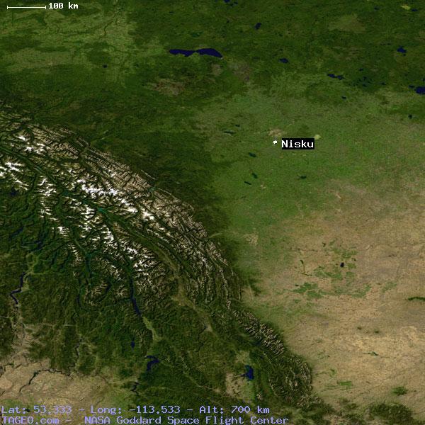 Map Of Nisku Canada NISKU ALBERTA CANADA Geography Population Map cities coordinates