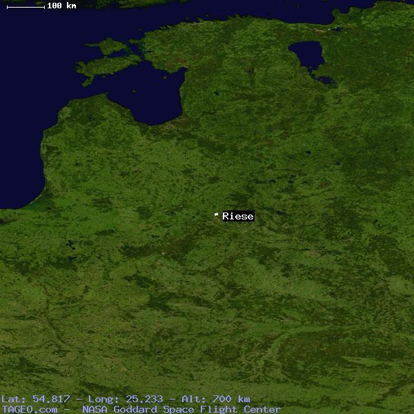 Der Riese Map on