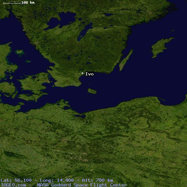 IVO SKANE LAN SWEDEN Geography Population Map Cities Coordinates - Sweden terrain map
