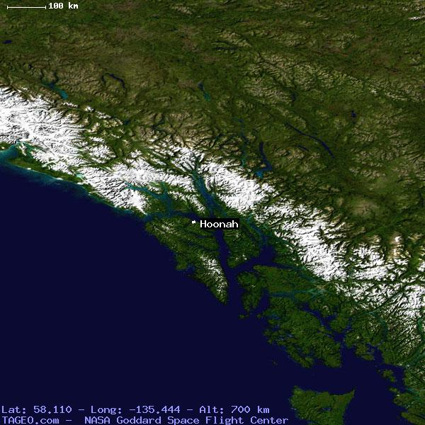 Hoonah Alaska United States Geography Population Map Cities