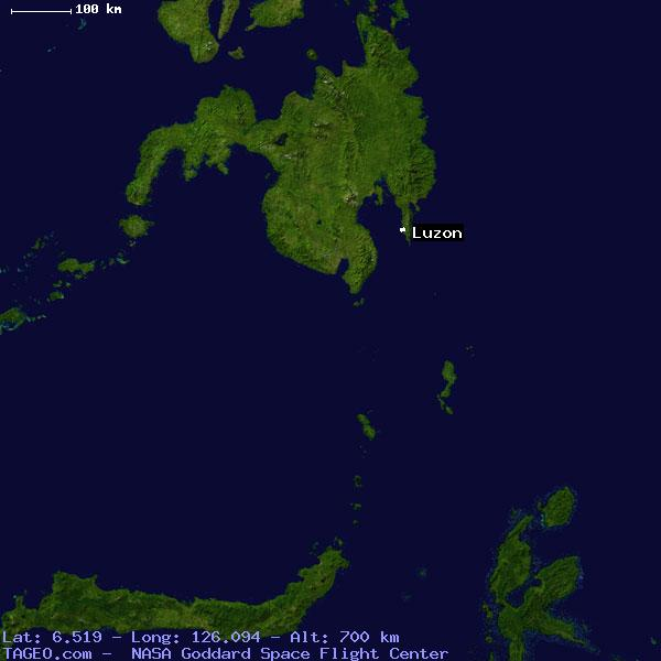 LUZON DAVAO ORIENTAL PHILIPPINES Geography Population Map cities ...