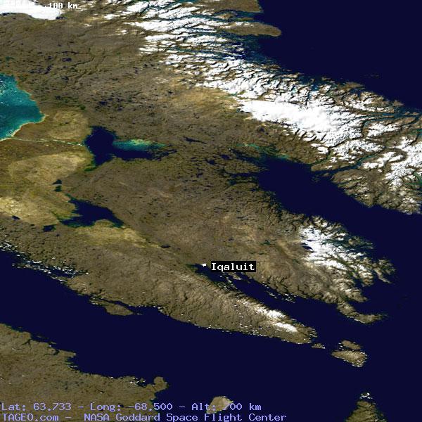 Iqaluit Canada Map.Iqaluit Nunavut Canada Geography Population Map Cities Coordinates