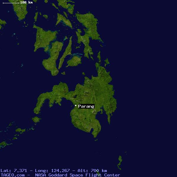 PARANG MAGUINDANAO PHILIPPINES Geography Population Map cities ...