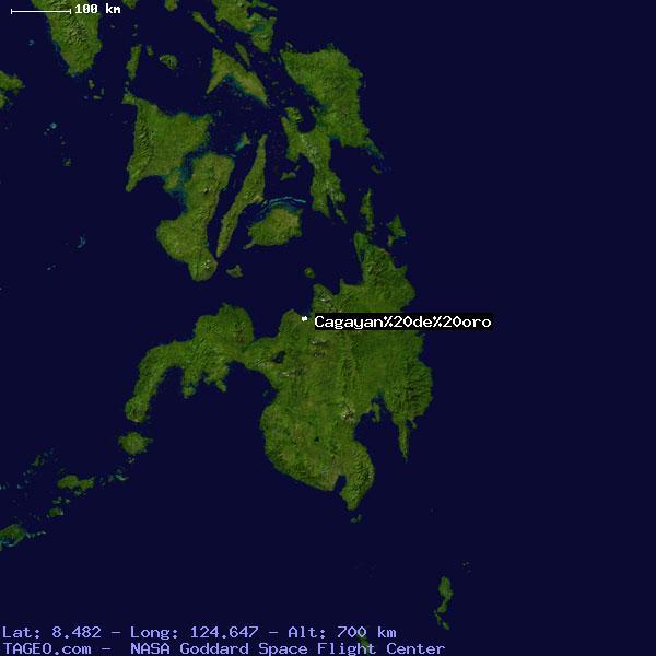 CAGAYAN DE ORO CAGAYAN DE ORO PHILIPPINES Geography Population Map ...