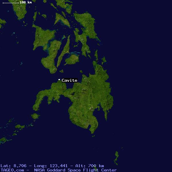 Cavite Dapitan Philippines Geography Population Map Cities